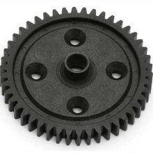 Image of a plastic injection molded gear